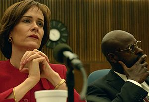 Sarah Paulson as Marcia Clark in OJ Simpson DocuDrama