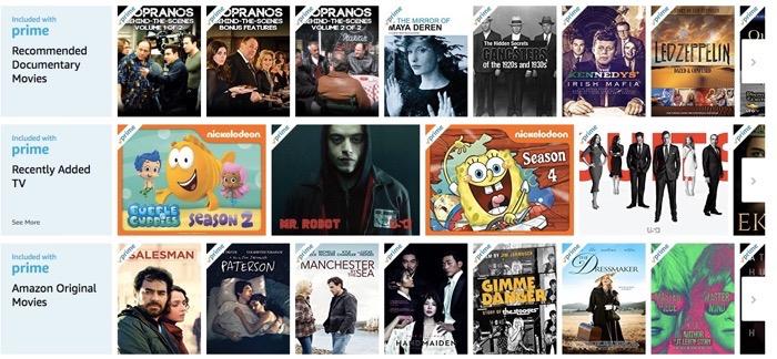 Amazon Prime Video list part 3