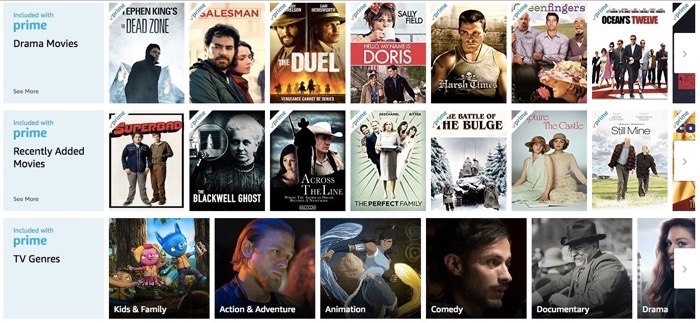 Amazon Prime Video list part 4