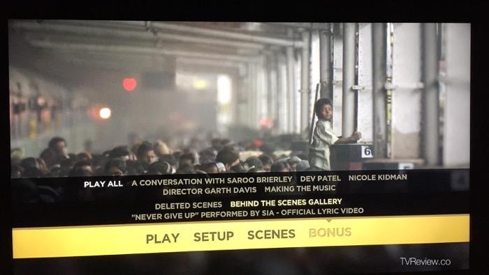 Lion true story Saroo Brierly bonus features