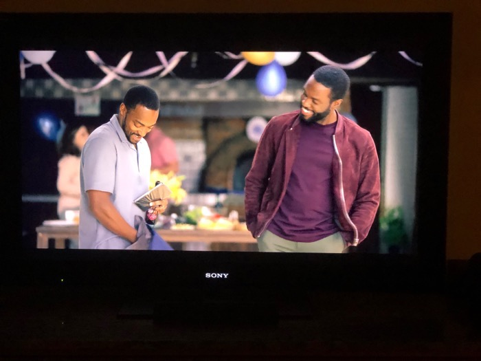 Anthony Mackie and Yahya Abdul-Mateen II in Striking Vipers Black Mirror Season 5