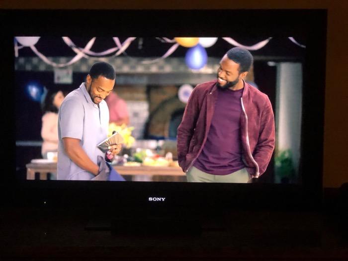 Anthony Mackie and Yahya Abdul-Mateen II in Striking Vipers Black Mirror Season 5