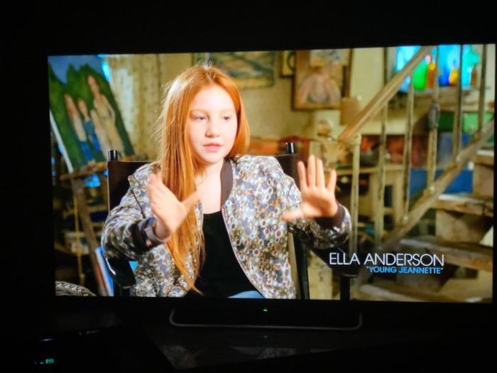 Ella Anderson - Young Jeanette Walls - Netflix Rental DVD bonus feature