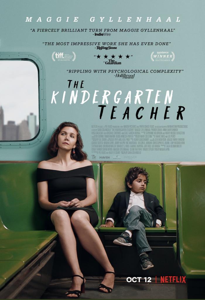 Kindergarten Teacher Maggie Gyllenhaal Poster