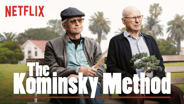 Kominsky Method Poster Michael Douglas and Alan Arkin