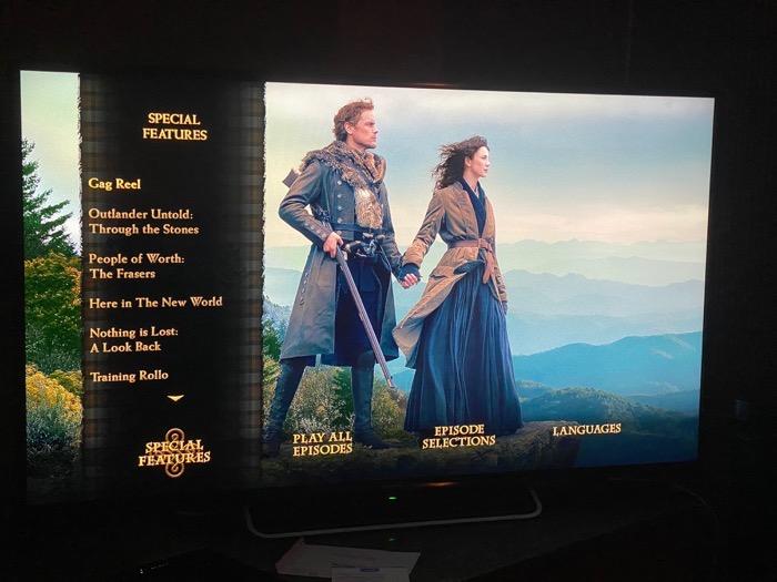 Outlander Disc 4 Season 4 Final Netflix Disc